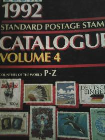 STANDARD POSTAGE STAMP CATALOGUE VOLUME 4,1992