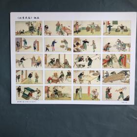 北京民俗烟画(一套5张全)