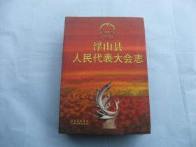 浮山县人民代表大会志   大16开精装本