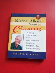 Michael Allens Guide To E-learning