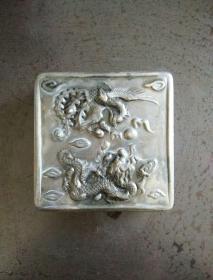 品相一流老铜墨盒一个