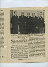 1946年10月《全英助华联合总会》进展报告,用资金和各种有趣有效方法帮助我们的盟友~中国