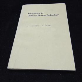 英文原版,化学过程工艺导论