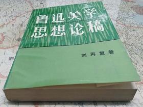 YFSFZ·中国当代著名人文学者·思想家·文学家·红学家·自由主义者·刘再复先生·签名钤印·《鲁迅美学思想论稿》·品好