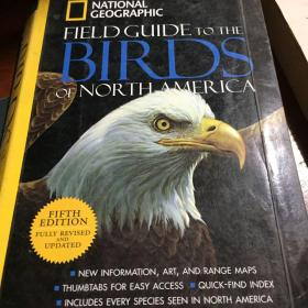 National Geographic Field Guide to the Birds of North America, Fifth Edition