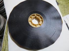 16毫电影胶片电影拷贝【专用原护片段】黑格子原护片全新150米1卷
