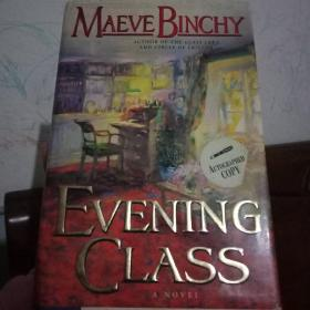 正版现货 外文原版  EVENING CLASS