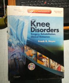 Knee Sisorders:Surgery,Rehablitation,Clinica【膝关节手术:康复手术,Clinica】全新塑封后皮有磨损详见图片