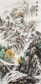 四川美协会员刘泽海手绘! 无限风光