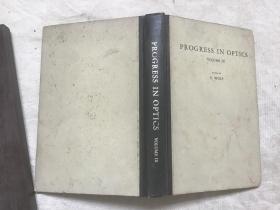 PROGRESS IN OPTICS (VOLUME  9)光学进展 第9卷