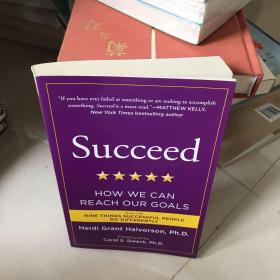 Succeed:How We Can Reach Our Goals