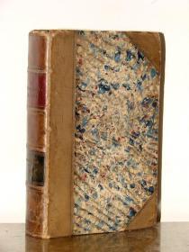 1843年版《自然博物馆系列丛书:英国鱼类图谱》—34幅整版铜版画/古老手工上色/艳丽的色彩
