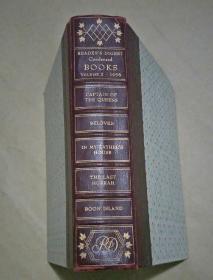 1956年英文原版读者文摘精华卷 精装一厚册(书角边有破损 品相看图)