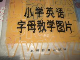 小学英语字母教学图片 一袋26张