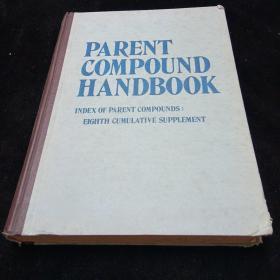 英文原版,母体化合物手册(第八次累计补充母体化合物索引)