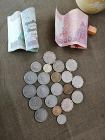 港币、台湾币、越南币(一枪打)