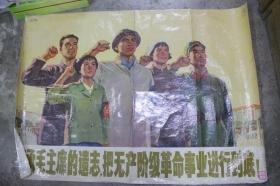 继承毛主席的遗志,把无产阶级革命事业进行到底!
