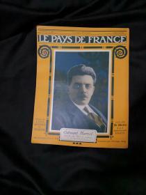 捡漏,百年前的一战时的法国画报 《LE PAYS DE FRANCE》第122期,1917年2月15日的法国战事
