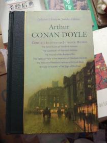 上书口刷金-原版英语书-Arthur Conan Doyle: the complete Sherlock holmes with illustrations by sidney  paget(福尔摩斯探案全集)