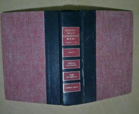 1990年英文原版读者文摘精 华精装一厚册