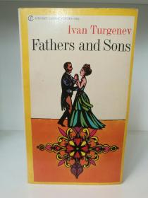 屠格涅夫:父与子 Father and Sons by Ivan Turgenev (A Signet Classic 1969年版) (俄罗斯文学)英文原版书
