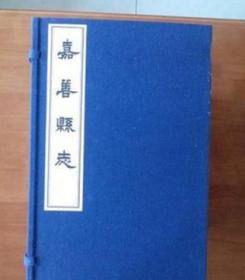 嘉善县志(1函17册)(清)江峰青 线装书局