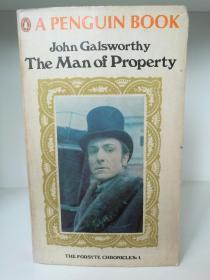 约翰·高尔斯华绥 The Man of Property by John Galsworthy (Penguin Books 1951年版)(英国文学经典)英文原版书