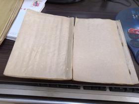 (竹窗随笔)漂亮的小楷手抄本两册