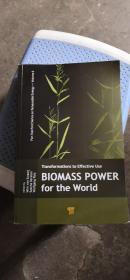 BIOMASS POWER for the World    生物质能世界   英文版