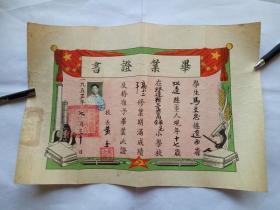 毕业证书1953年