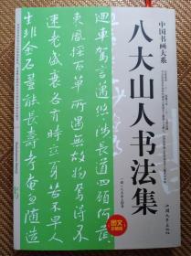中国书画大系----八大山人书法集
