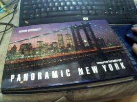 PANORAMIC NEW YORK (英文原版)大16横开精装本
