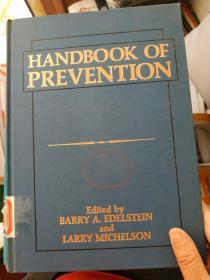 HANDBOOK OF PREVENTION