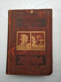 ROBINSON CRUSOE(英文版,1882年,品见图)