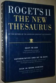 英文原版书 Rogets II: The New Thesaurus Hardcover – 1995 by Peter Mark Roget (Author)