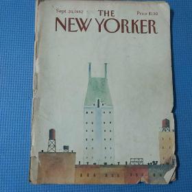 THE NEW YORKER-纽约客1982老杂志