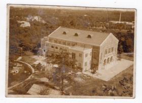 民国报纸图片类----民国原版老照片--1930年前后时间,楼房建筑1