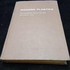 英文原版。1960年现代塑料大全
