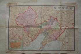 辽宁省地图   1977年