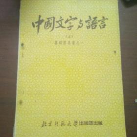 中国文字与语言(上
