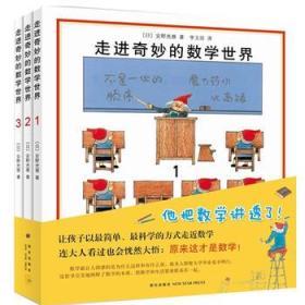 走进奇妙的数学世界(套装全3册) 正版 (日)安野光雅 ,李玉珍 9787513308076