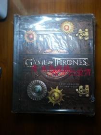 权力的游戏立体书 美版 Game of Thrones: A Pop-Up Guide to Westero