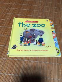 The Zoo (Usborne Talkabouts) 精装英文原版