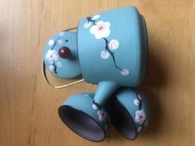功夫茶 紫砂茶具     3件套 艺术品