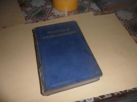 principles of electrical engineering (精装 英文版)1930年版