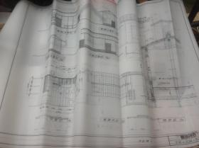 买满就送 16张茶室设计图纸(复印件) 腰挂待合,潜门的种类,切妻,入母屋,木户的形式与种类,八角,方形,六角的平面,立面,矩计图 很珍贵
