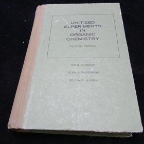 英文原版。有机化学单元化实验(第四版)