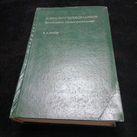 英文原版。表面活性剂生物降解第二版。