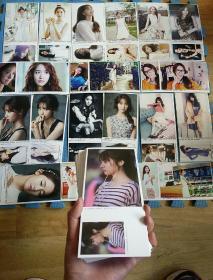 郑秀晶f(x)超清规格珍藏版明信片全50张合售