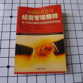 中国民营公司经营管理精粹